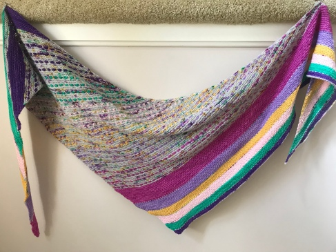 April Shawl 2018 - On The Spice Market